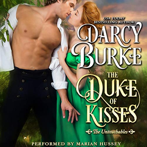 The Duke of Kisses  audiobook cover art