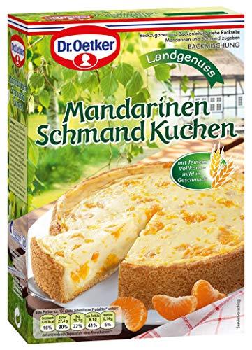 Dr. Oetker Mandarinen Schmand Kuchen 460g