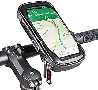 ROTTO Bike Phone Holder Bicycle Cell Phone Mount Cycling Handlebar Bag Waterproof with 360° Rotation Three Sizes