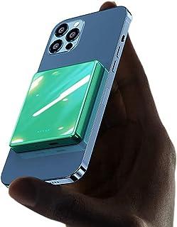 SUYING 15 w magnetisk powerbank 10 000 mah/5000 mah, 20 wpd snabb mobiltelefonladdare, används för backup-ström, kompatibe...