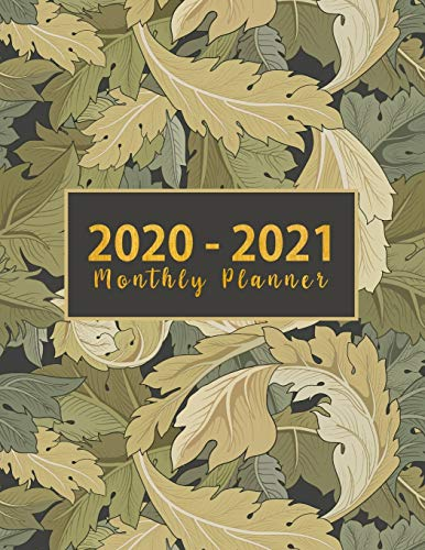 2020-2021 Monthly Planner: monthly 2 year appointment...