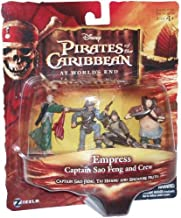 -  Pirates of the Caribbean 3: At Worlds End > Empress Captain Sao Feng and Crew Mini Figure Multi-Pack