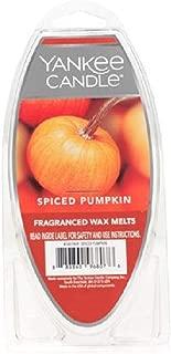 Yankee Candle Spiced Pumpkin 6 Pack Fragranced Wax Melts