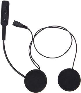 Vosarea Fone de ouvido para capacete de motocicleta, fone de ouvido para motocicleta, intercomunicação, fones de ouvido se...