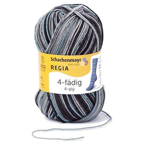 Regia Handstrickgarne Schachenmayr 4-fädig Color, 100g Fog Color