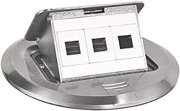 Southwire Tools & Equipment 3D-KIT Finish Floor Box Kit with Pop-Up Data Ports, FBCVSS-3D-KIT