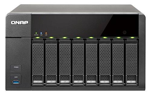 QNAP TS-851 0/8HDD Tower NAS, Nero