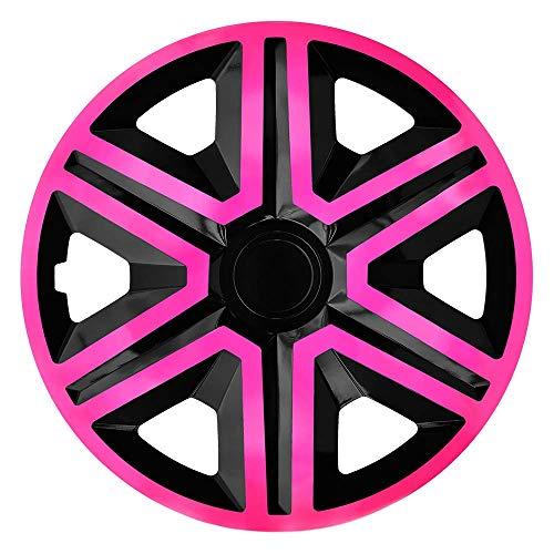 CM DESIGN Action - Reloj de Pulsera para Casi Todos los Peugeot (Apto para 307 + SW, 16'), Color Rosa y Negro