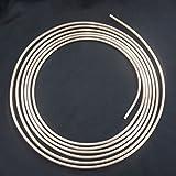 5m Tuyau de Frein Ø 6,0 mm en Cupro Nickel Cunife accessoire de l'échange conduite de freins conforme DIN 74 234 seulement ajouter le collet et le pliage