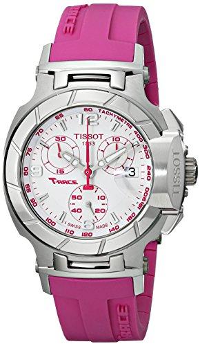 Tissot T048.217.17.017.01 - Reloj de Pulsera Mujer, Caucho, Color Rosa