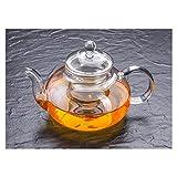 Cosy YcY - Théière en verre de borosilicate avec infuseur à thé, théière ou...