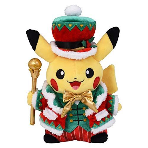 Pokemon Center Original Plush Doll Christmas 2018 Pikachu Christmas