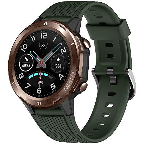 UMIDIGI Uwatch GT Smartwatch Hombre Reloj Inteligente 5ATM Impermeable con Cronómetro Pulsera Actividad de Fitness con Podómetro Smartwatch Niños para Xiaomi Samsung y iOS Android