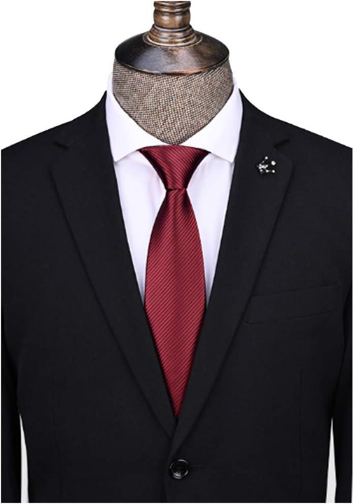 Excellent YL Necktie Male Classic free Weave Polyester Formal Busin Stripe Wear