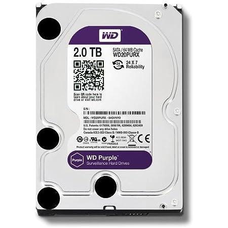 Wd Purple 2 Tb Festplatte Für Videoüberwachung Computer Zubehör