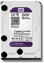 WD Purple WD20PURX- Disco duro para videovigilancia (2 TB, Intellipower, SATA 6 GB/s, 64 MB de caché, 3.5