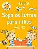 Sopa de letras para niños, Vol. 13