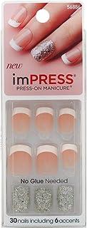 KISS Broadway Nails Impress Press-On Manicure Kit, 30 ea (Pack of 2)