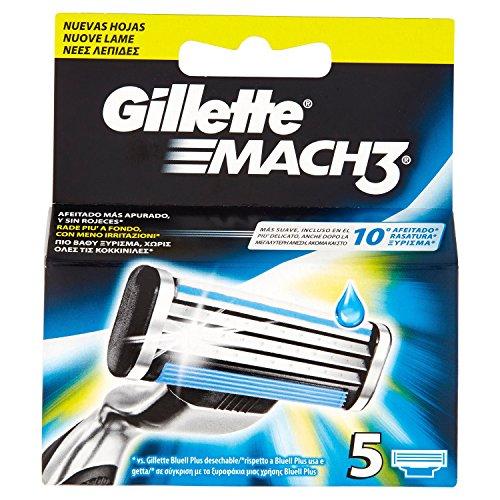 Gillette MACH3 Klingen, 5 Stück