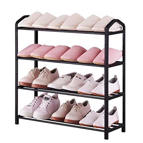 XWZH Gabinete de Zapatos a Prueba de Polvo Zapatero, Estante de la Torre de Zapatos Almacenamiento Organizador Gabinete Estantes apilables Traje de For Etempryway, 4 niveles-62 x 19.4 x 62 cm