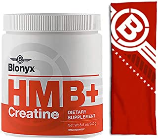 Blonyx HMB+Creatine (30 Days Supply + Headband)