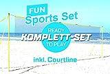 Fun sports set beachvolleyball- et de sport