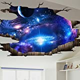 JAYSK 3D dreidimensionale Wandaufkleber Wandbehänge
