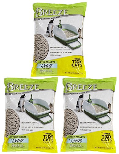 Tidy Cats Purina Breeze Cat Litter Pellets Refill Multiple Cats