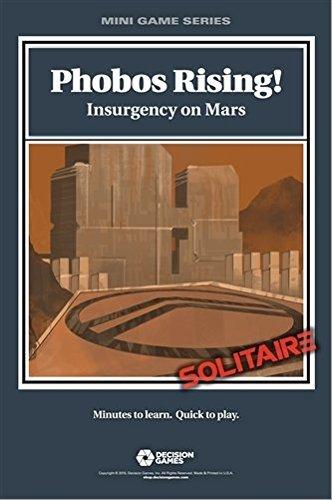 DG Decision Games Folios DCG: Phobos Rising! Insurgency on Mars Folio Boardgame