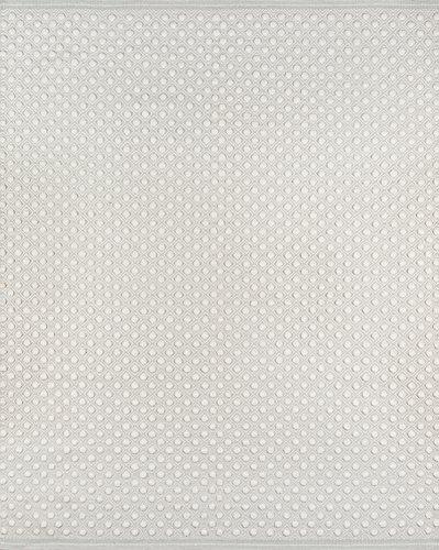 Erin Gates by Momeni Langdon Windsor Grey Hand Woven Wool Area Rug 5' X 8',