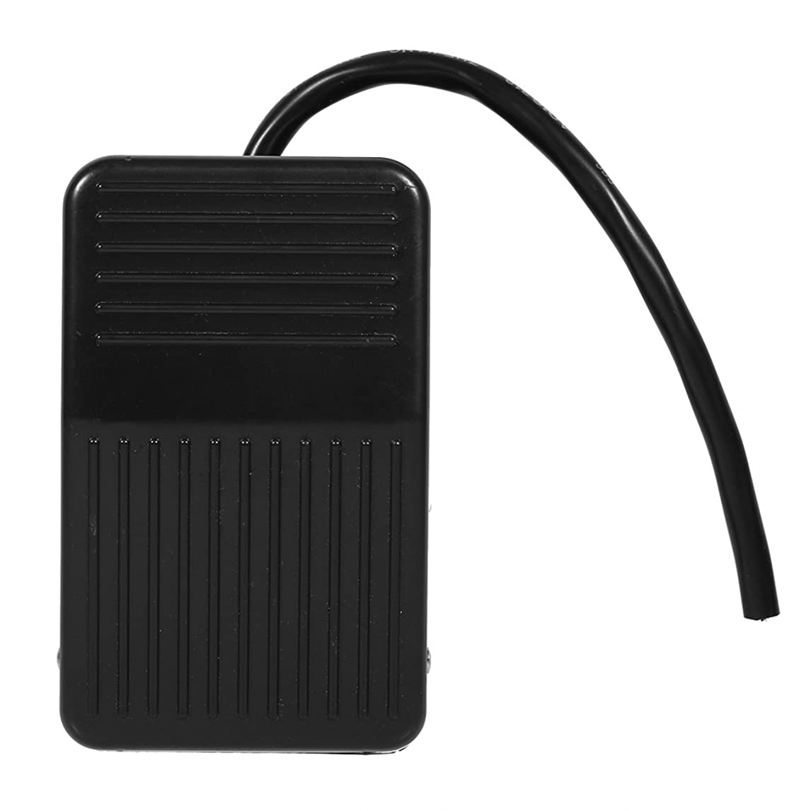 1pc 220V 10A Electrical Power Plastic Foot Pedal Switch On/Off Control Black Color + 10cm Cord qozwd79292723654