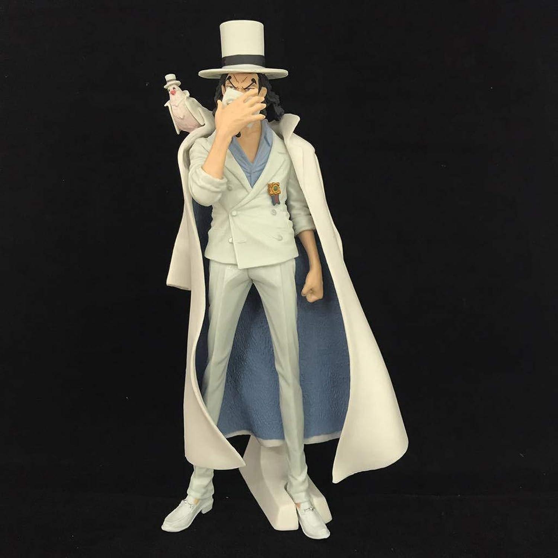 mejor servicio JXJJD Piratas Rey náutico Rob Luke Modelos de de de Anime Hechos a Mano a Mano Recuerdos Colecciones Artesanía (Color   blancoo)  Las ventas en línea ahorran un 70%.