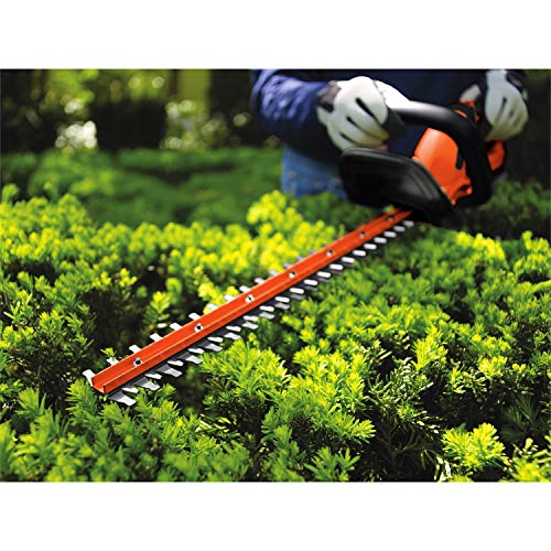 BLACK+DECKER 20V MAX Cordless Hedge Trimmer, 22-Inch, Tool Only (LHT2220B),MEDIUM