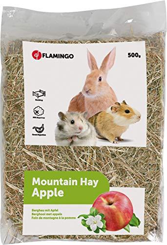 Snack para roedores heno de montaña con manzana 1unidadx 500g # 201618