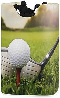 N\A Panier à Linge, Sport Balle de Golf paniers de Rangement de Linge vêtements Pliables Sac Organisateur de Jouets pour C...