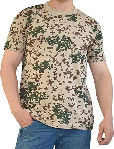 normani Herren Outdoor Freizeit T-Shirt Baumwolle Farbe Tropentarn Größe L