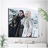 SDGW Daenerys Targaryen Und Jon Snow Poster Und Drucke