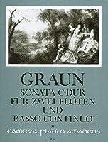GRAUN - Sonata en Do Mayor para 2 Flautas y BC (Hess)