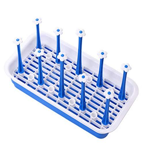 Estantes de utensilios rectangulares para beber, taza de botella, soporte de cocina, estante de almacenamiento de taza de drenaje