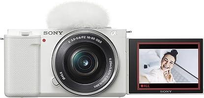 ソニー レンズ交換式 VLOGCAM ZV-E10L W パワーズームレンズキットホワイト Vlog用カメラ Cinematic Vlog シネマティック(ボディ+キットレンズ:E PZ 16-50mm F3.5-5.6 OSS)