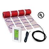 70 sqft HeatTech 120V Electric Tile Radiant Floor Heating Mat Kit