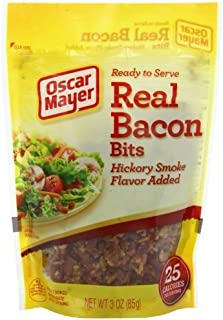 Oscar Mayer Real Bacon Bits, Hickory Smoke Flavor 3 Oz (Pack of 4) by Oscar Mayer