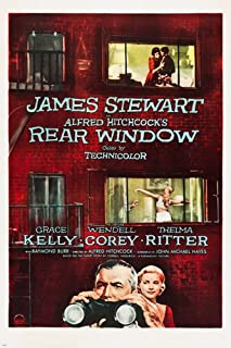 rear window movie poster original