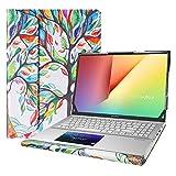 Alapmk Protective Case for 15.6' HP Envy x360 15m-eeXXXX 15m-edXXXX 15m-esXXXX 15m-euXXXX & Samsung Galaxy Book Ion 15 NP950XCJ/Samsung Galaxy Book Flex 15 NP950QCG & Dell Latitude 7520,Love Tree