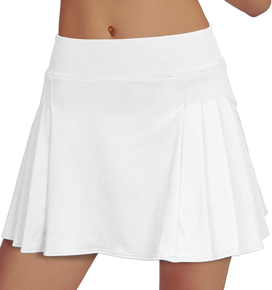 Rainbow Tree Pleated Tennis Skirt Shorts outlet Sh with Athletic Ranking TOP18 Pocket