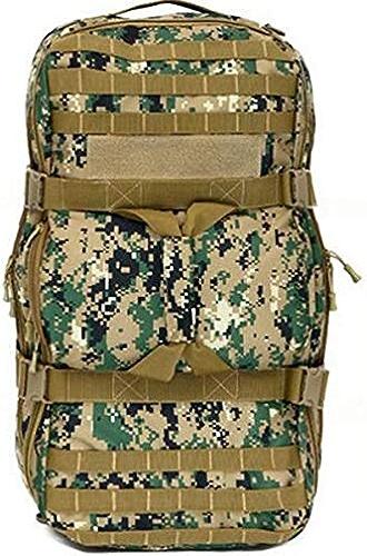 Army SHUZAN Sac à Dos imperméable en Nylon Multifonctionnel en Nylon de Sports de Plein air de 60L Tactique campant Le Sac à Dos
