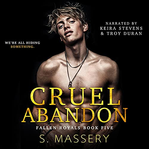 Cruel Abandon: A Dark College Bully Romance cover art