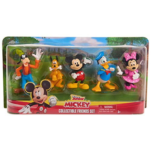 Mickey Mouse Collectible Figure Set, Multicolor, Model:38441