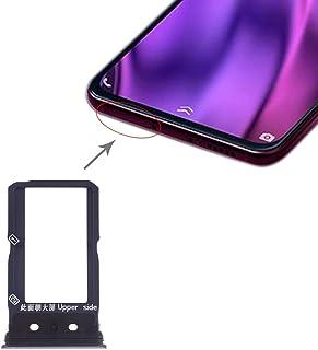 Vivoスペア SIMカードトレイ Vivo NEXデュアルディスプレイ用SIMカードトレイ Vivoスペア (色 : Black)