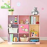 Fantasy Fields - Kinderspielzeugmöbel - Magic Garden Adjustable Cube Kids Bookcase | Bücherregal mit 9 Würfeln